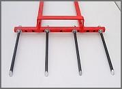 adjustable broadfork with 4 tines
