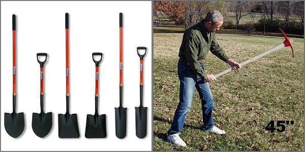 Digging Tool selection