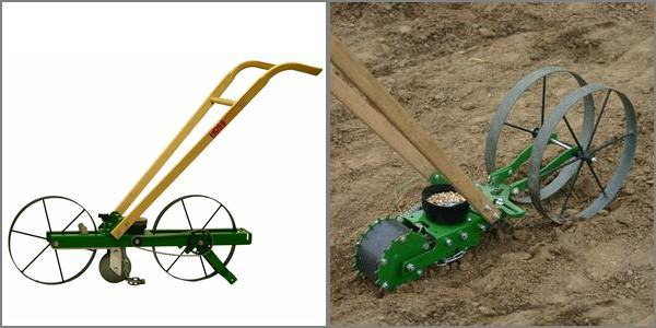 garden seeder planter selection