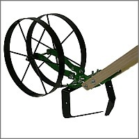 Deluxe single wheel hoe