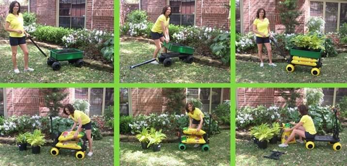 How to use a garden cart. Medium banner