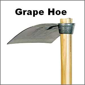 Navigation to Italian Grape Hoe page