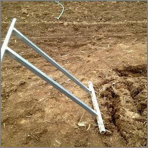 Gundaroo Tiller pulled back to loosen soil