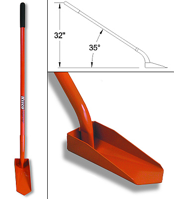 Buy HISCO HITACOL4-4 clean out shovel