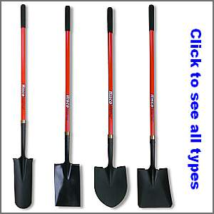 HISCO shovels that are in stock