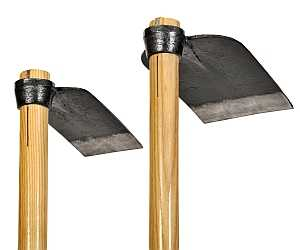 Garden hoes hoss wheel hoe broadforks more garden tools for Gardening tools list and their uses