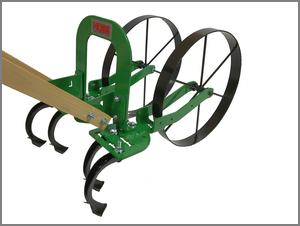 Double wheel High arch cultivator