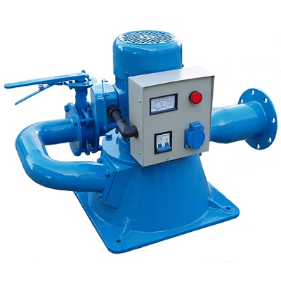 picture of a small hydroelectric generator
