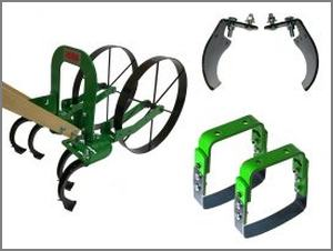 two stirrup hoes and plow set included with Loaded package