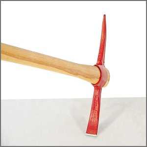 Superior Pick Mattock Cutter Mattock Pickaxe Or Railroad Pick Easy Digging Tools