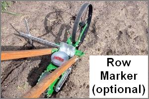 Row Marker for Hoss Push Planter