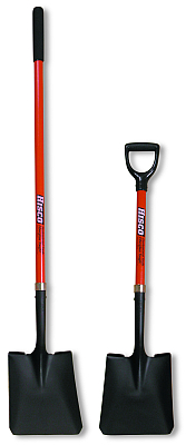 HISCO scoop shovels with long and short handles