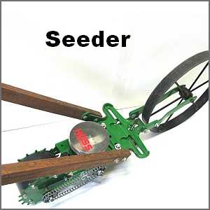 Hoss Wheel Hoe | Hoss Garden Push Plow Combo On Sale