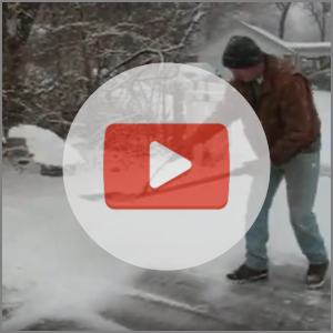 link to ergonomic snow shovel adapter video