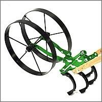 Hoss Standard double wheel cultivator
