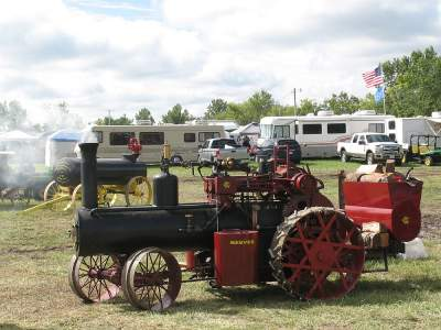 Smaller steam engine by Reeves