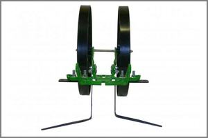 sweeps is straddle weeding configuration