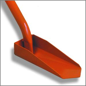 Trench clean-out shovel blade or head