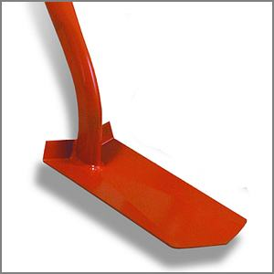 Trench digging shovel blade or head