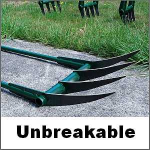 Unbreakable broadfork tines