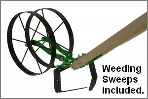 weedings sweeps included with Deluxe package